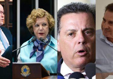 Marconi Perillo e Lúcia Vânia lideram pesquisas do Instituto Directa para o Senado