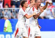 Sérvia sai na frente no grupo do Brasil