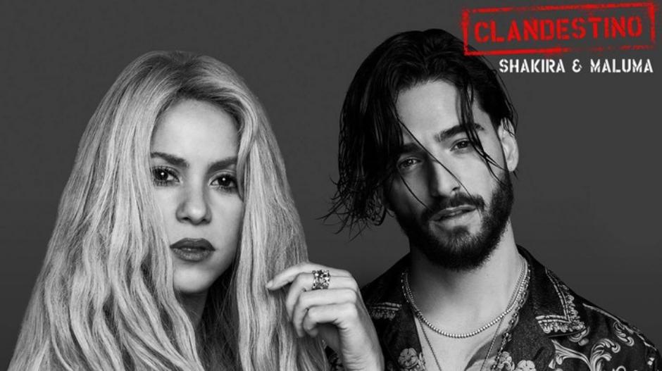 Shakira e Maluma divulgam sua terceira música juntos, 'Clandestino'