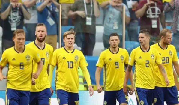 Suécia vence Coreia do Sul com gol de pênalti