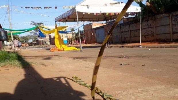 Três pessoas são mortas a tiros durante festa junina em Aparecida de Goiânia