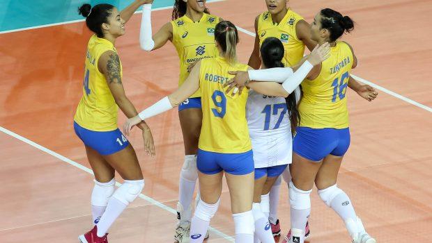Seleção feminina joga mal, mas vence a Rússia na Liga das Nações
