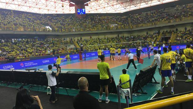 Brasil vence Coreia do Sul na Liga das Nações de Vôlei