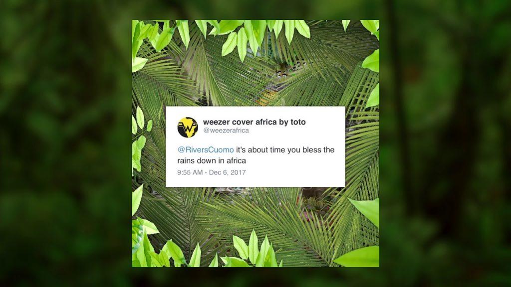 Weezer lança cover de 'Rosanna' e 'Africa', do Toto