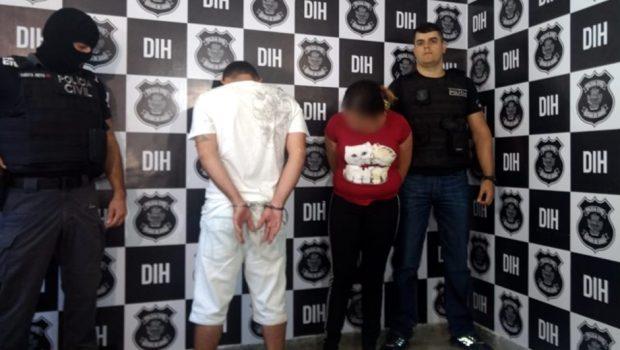 Polícia apresenta dupla que amarrou e matou casal, em Goiânia