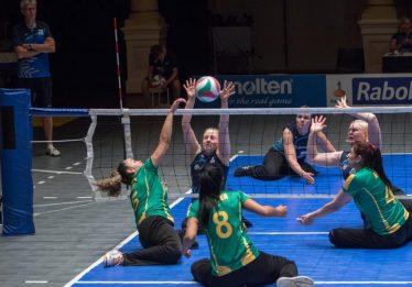 Seleção de vôlei sentado se classifica para as quartas de final no Mundial