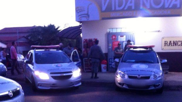 Empresário parte para cima de assaltante e é morto em seu próprio supermercado em Anápolis