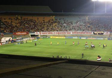 Vila Nova empata com Brasil (RS) no Serra