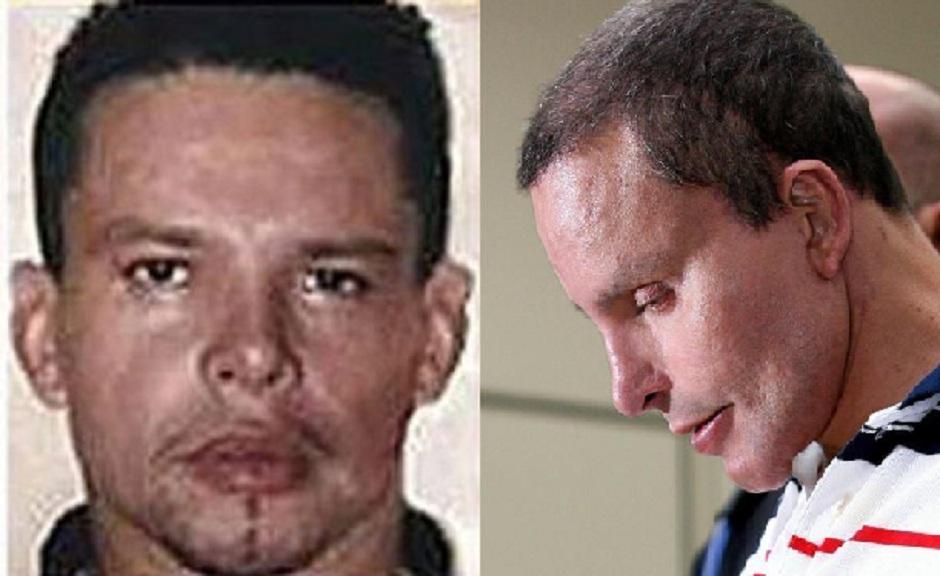 Juan Carlos Ramíres Abadía, preso em 2007 em São Paulo, fez várias cirurgias para alterar a aparência (Fotos: Reprodução / Internet)