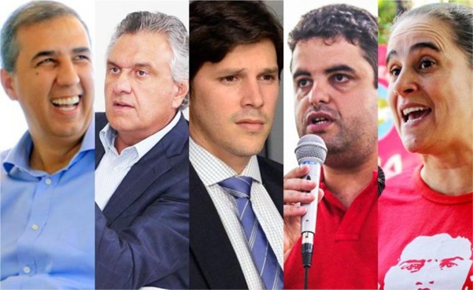 Pesquisa Exata OP/Tribuna: Caiado lidera com 35,47% contra 14,69% de Eliton e 8,75% de Daniel