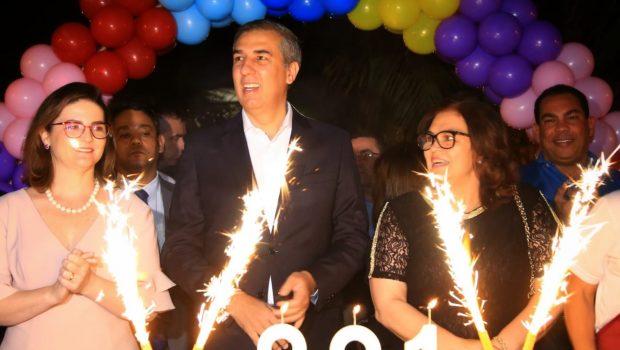 """""""É uma honra celebrar nossa história"""", diz Eliton na comemoração do aniversário de 291 anos da cidade de Goiás"""