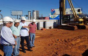 Obras da trincheira da Avenida São Paulo devem ser concluídas em novembro