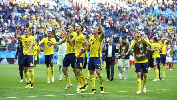 Suécia vence a Suíça e garante vaga nas quartas de final da Copa