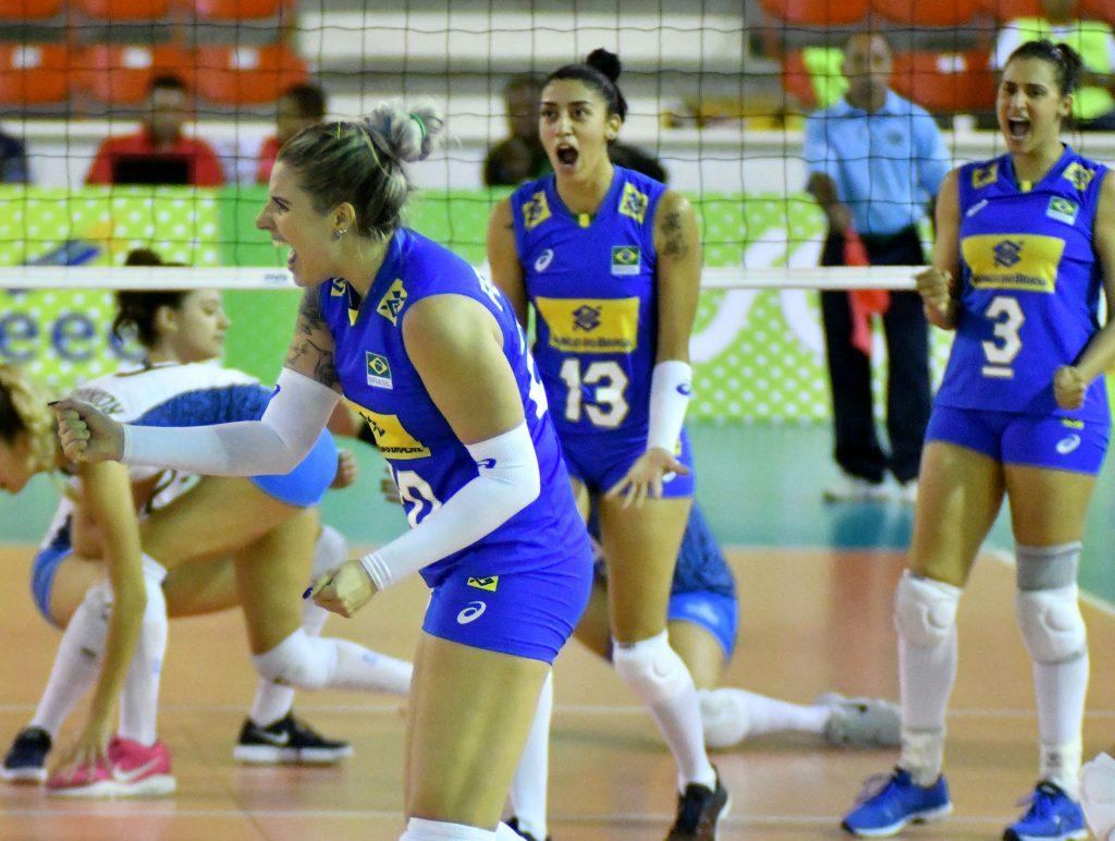 Seleção feminina de vôlei vence de novo e se classifica para o Pan-Americano de 2019