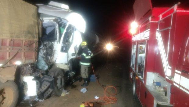 Caminhoneiro morre em acidente na BR-364, em Mineiros