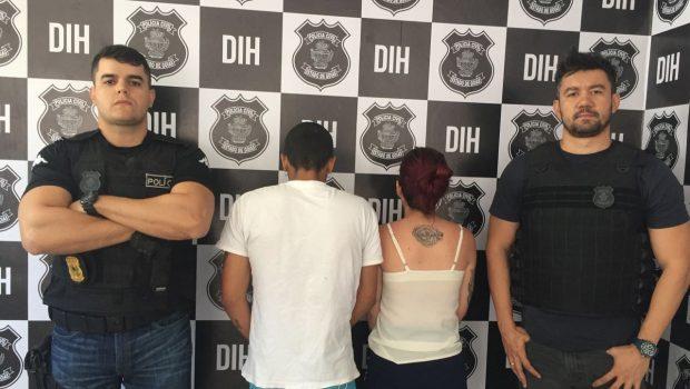 Casal de adolescentes é apreendido suspeito de matar mototaxista, em Goiânia