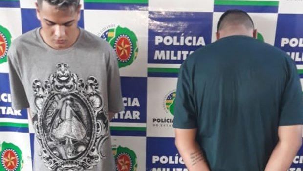 Homem é preso e menor é apreendido suspeitos de aplicar golpes através de site de vendas, em Goiânia