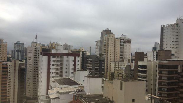 Goiânia amanhece nublada, mas frente fria não deve durar muito tempo