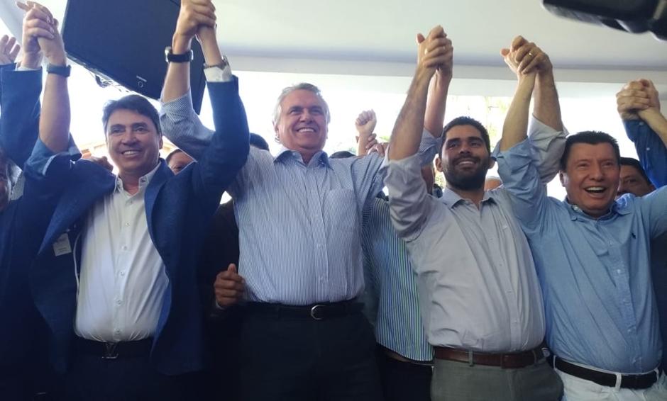 Caiado anuncia Lincoln Tejota como vice ao Governo de Goiás