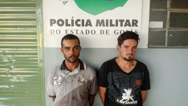 PM prende suspeitos de matar homem a pedradas após briga por causa de isqueiro, em Bonfinópolis