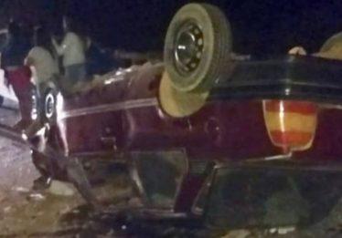 Homem morre após bater carro em ponte na BR-020, em Vila Boa