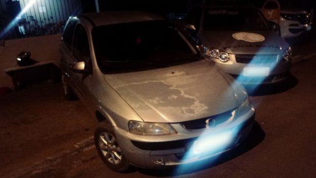 Quadrilha suspeita de roubar carro é presa em Hidrolândia