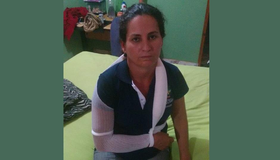 Professora aguarda há um ano por cirurgia, após choque em sala de aula de Águas Lindas de Goiás