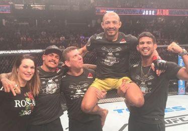José Aldo supera norte-americano por nocaute e volta a vencer no UFC