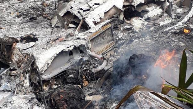 Avião com piloto goiano cai no Pará