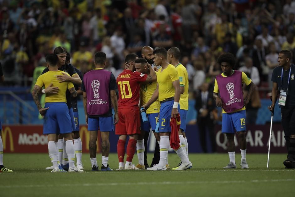 Brasil perde para a Bélgica e está fora do Mundial da Rússia