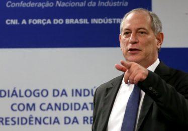 PDT oficializa Ciro Gomes como candidato à Presidência nas eleições 2018