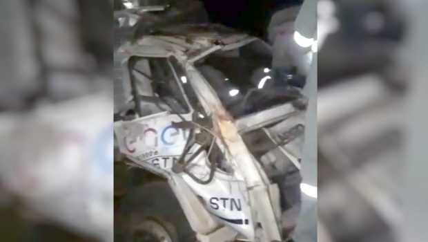 Acidente com caminhão da Enel termina com um morto e cinco feridos em Uruaçu