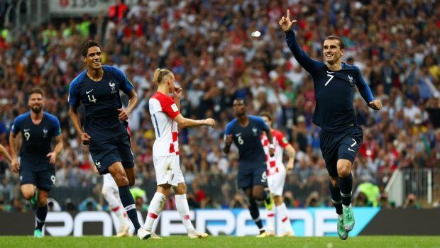 França é campeã do Mundial da Rússia