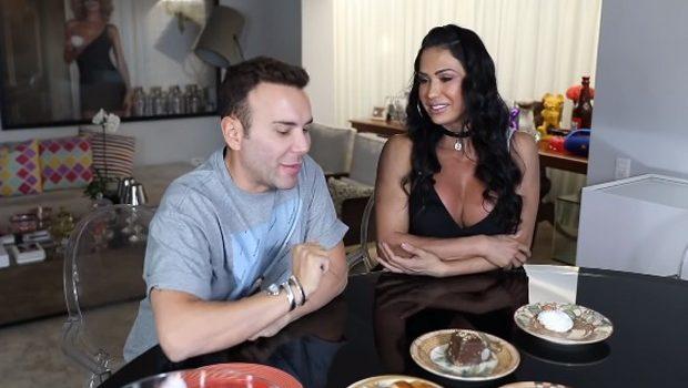 Gracyanne Barbosa diz que teve caso com mulher para 'experimentar'