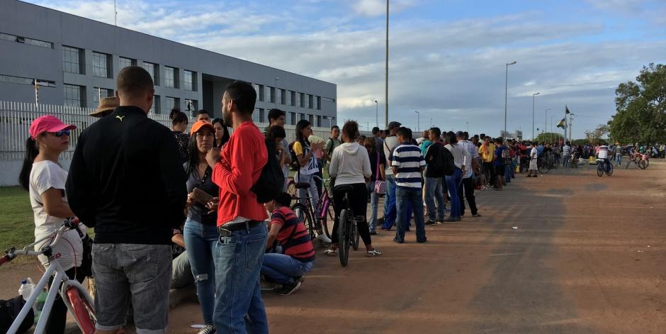 Mais 190 venezuelanos vão hoje de Roraima para o Rio Grande do Sul