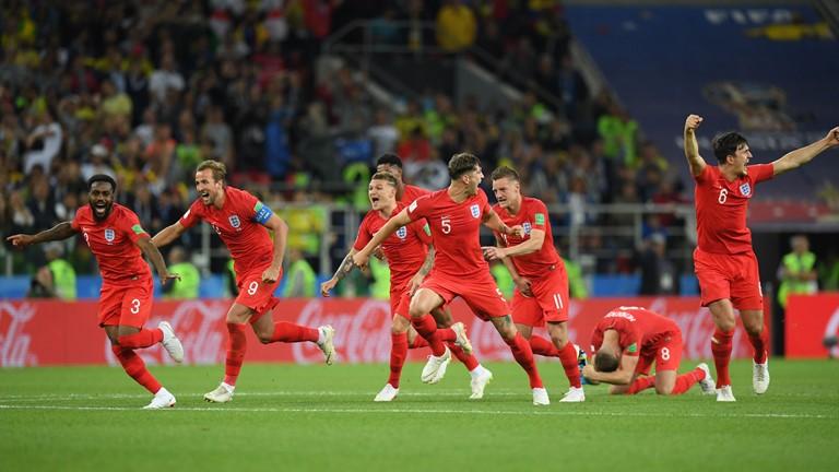Com decisão nos pênaltis, Inglaterra se classifica sobre a Colômbia