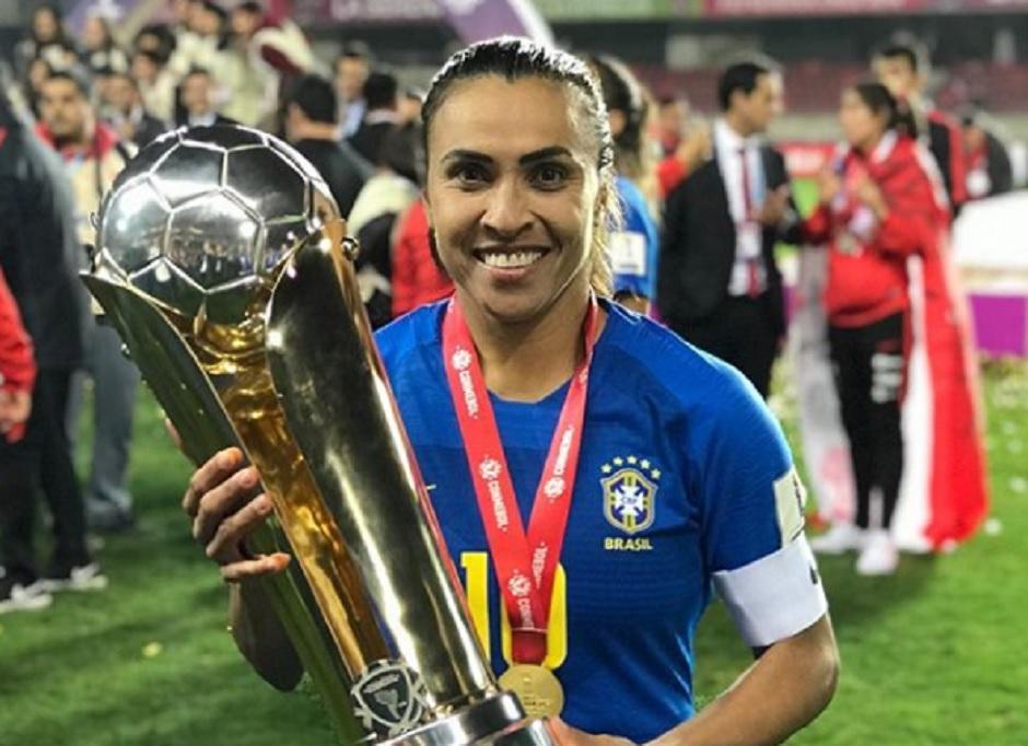 Marta buscará sexto troféu de melhor do mundo