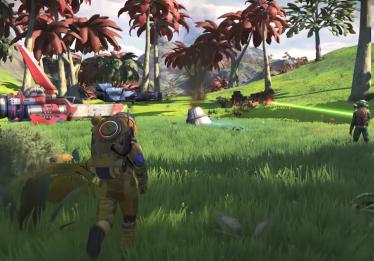 No Man's Sky finalmente ganha multiplayer, frotas e terceira pessoa