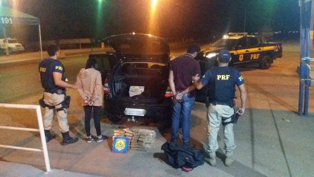 Motorista de UBER é preso por tráfico de drogas em Uruaçu