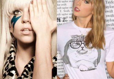 Ao que tudo indica, Lady Gaga e Taylor Swift estão gravando juntas em estúdio