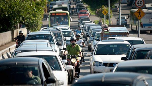 Goiânia possui sexta maior frota de veículos do país, diz pesquisa