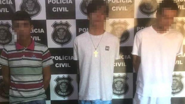 Três jovens são presos suspeitos de assassinar homem, em Pontalina