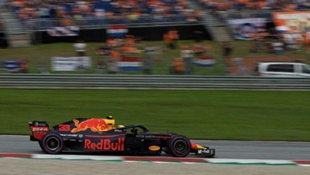 Verstappen vence na Áustria