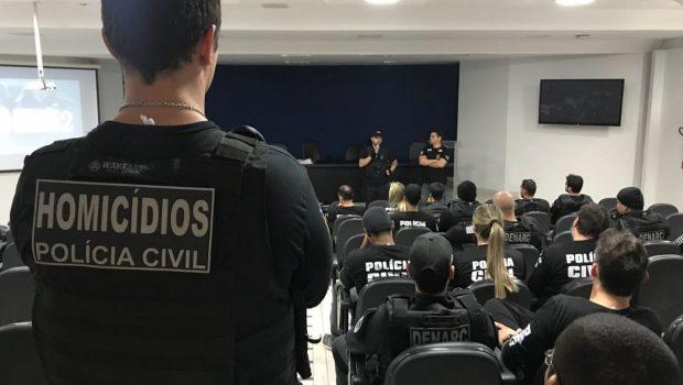 Polícia prende 19 suspeitos de 21 assassinatos em Goiânia
