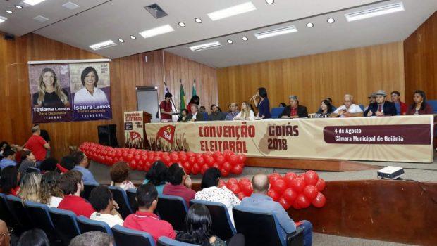 Convenção do PCdoB define nomes e celebra aliança com o PT