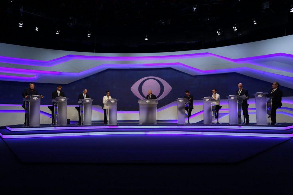 Debate gera audiência na TV e nas redes sociais