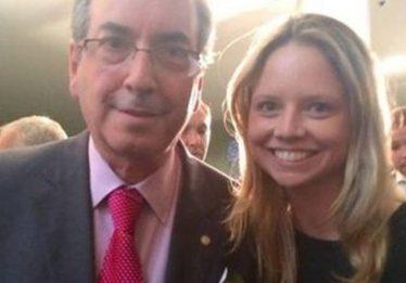 """""""Ela dará mais trabalho do que eu dei"""", diz Cunha sobre candidatura da filha Danielle"""
