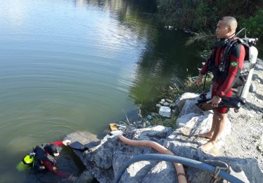 Adolescente morre afogado em lago de pedreira em Aparecida de Goiânia