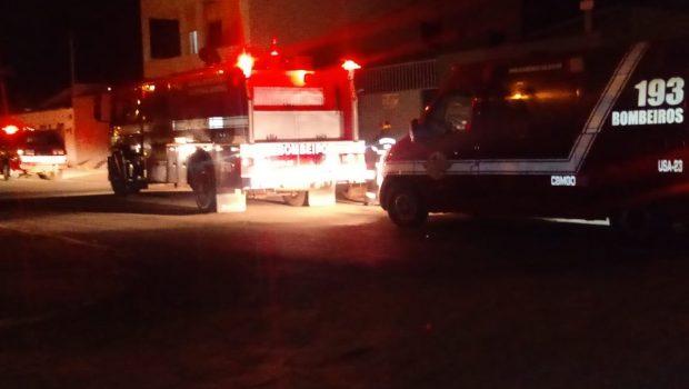 Briga de casal termina com incêndio em residência no município de Formosa