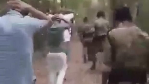 Vídeo mostra falsos guardas fardados realizando abordagem ilegal em parque de Goiânia